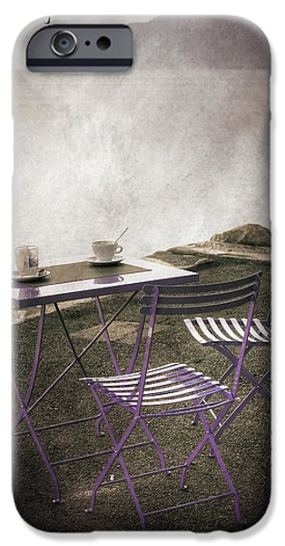 Lake iPhone Cases - Coffee Table iPhone Case by Joana Kruse