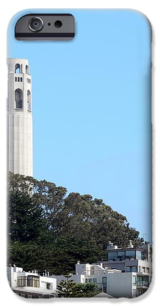 Coit Tower iPhone Case by Henrik Lehnerer