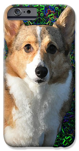 Collie iPhone Case by Bill Cannon