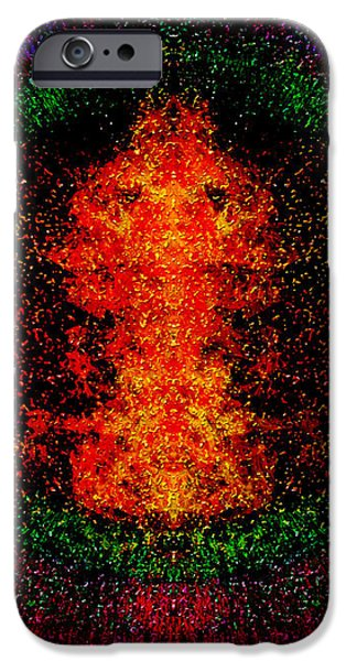 Color Burst iPhone Case by Christopher Gaston