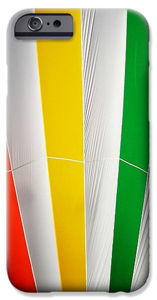 Color in the Air iPhone Case by Juergen Weiss