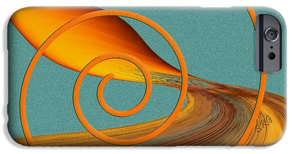 Abstractions iPhone Cases - Color Me Bright iPhone Case by Ben and Raisa Gertsberg