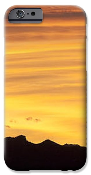 Colorado Sunrise Landscape iPhone Case by Bronze Riser