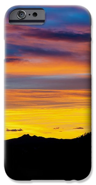 Colorado Sunrise -Vertical iPhone Case by Bronze Riser