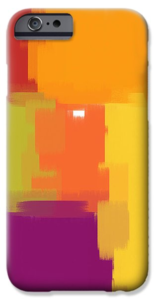 Colorblock iPhone Case by Heidi Smith
