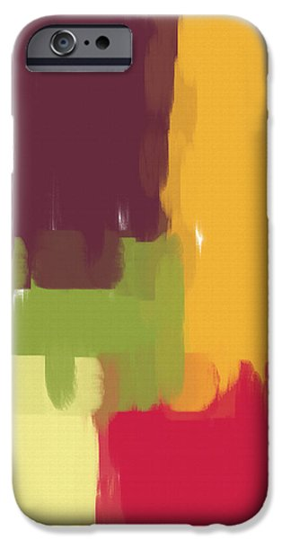 Colorblock Winter iPhone Case by Heidi Smith
