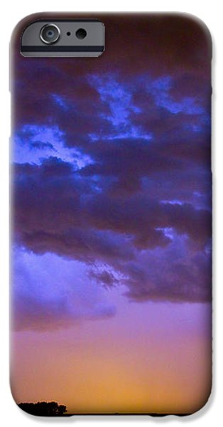Colorful Cloud to Cloud Lightning iPhone Case by James BO  Insogna