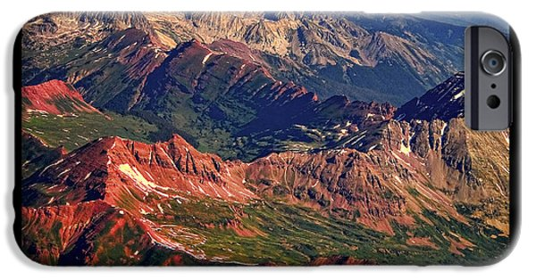 Striking Photography iPhone Cases - Colorful Colorado Rocky Mountains Planet Art Poster  iPhone Case by James BO  Insogna