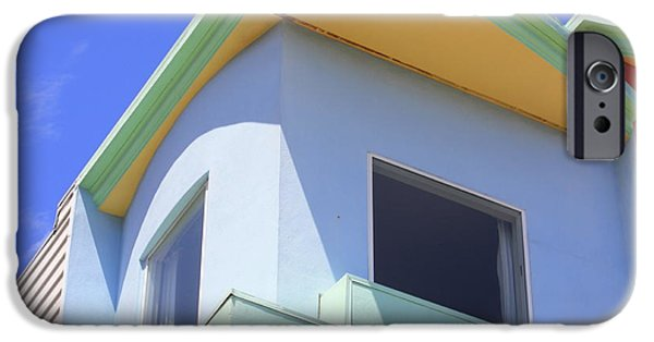 House Art iPhone Cases - Colorful House in San Francisco iPhone Case by Carol Groenen