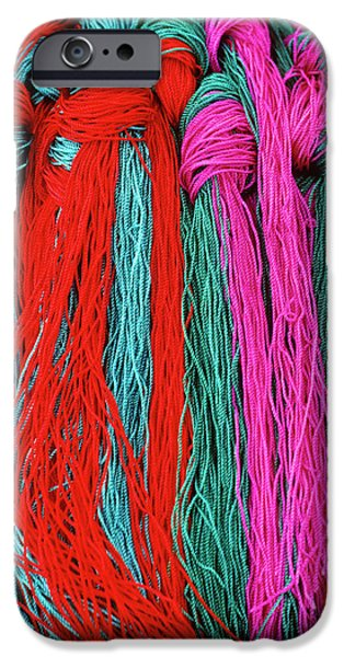 Colors of Tibet iPhone Case by Michele Burgess