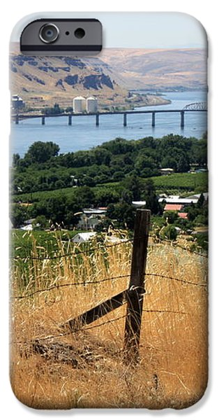 Columbia River - Biggs and Maryhill State Park iPhone Case by Carol Groenen