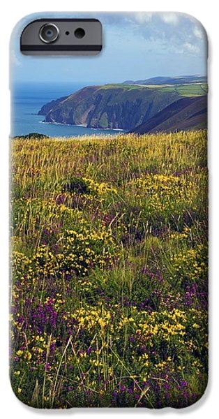 Hangman iPhone Cases - Combe Martin In Devon iPhone Case by Dr Keith Wheeler