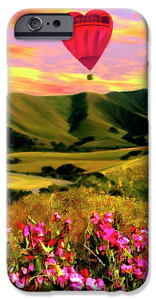 Come Fly With Me iPhone Case by Kurt Van Wagner