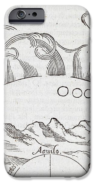 Comet Theories, 16th Century iPhone Case by Middle Temple Library