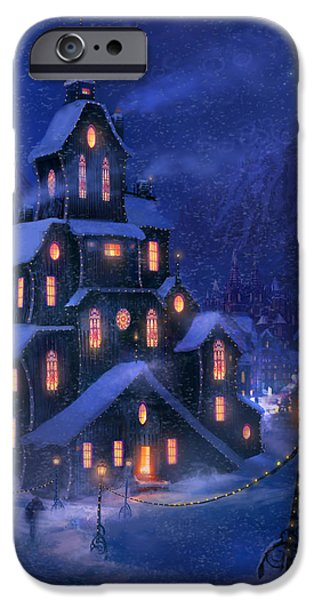 Pathway iPhone Cases - Coming Home iPhone Case by Philip Straub