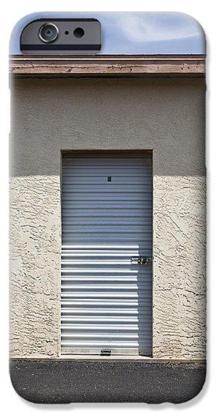 Commercial Storage Facility iPhone Case by Paul Edmondson