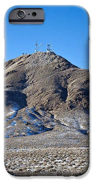Communications Tower iPhone Case by David Buffington