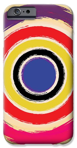 Compass Brush iPhone Case by Gary Grayson