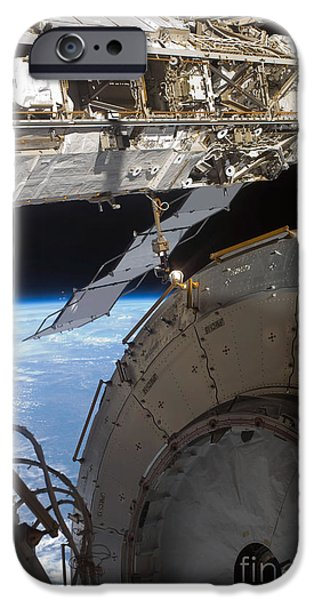 Component iPhone Cases - Components Of The International Space iPhone Case by Stocktrek Images
