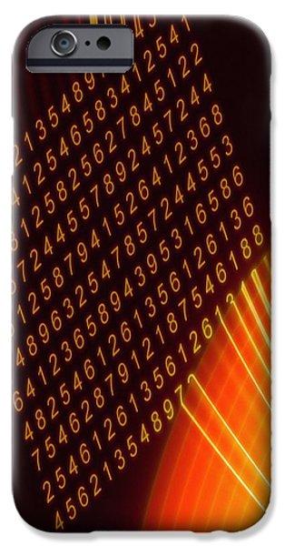 Computer Virus, Conceptual Artwork iPhone Case by Mehau Kulyk