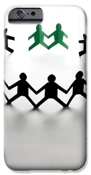 Discrimination iPhone Cases - Conceptual Situation iPhone Case by Photo Researchers, Inc.