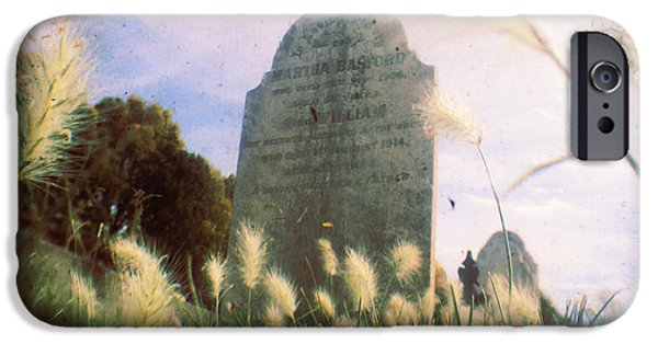 Cemetery iPhone Cases - Concilation iPhone Case by Andrew Paranavitana