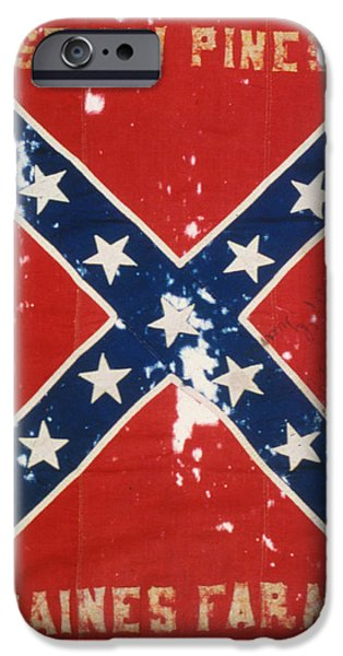 CONFEDERATE FLAG iPhone Case by Granger
