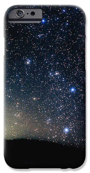 Stellar iPhone Cases - Constellation Puppis With Halo Effect iPhone Case by John Sanford