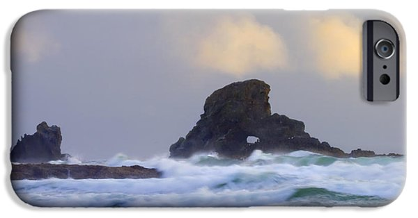 Engulfing iPhone Cases - Consumed by the Sea iPhone Case by Mike  Dawson