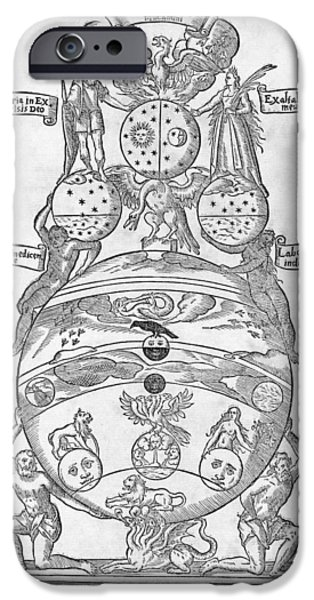 Symbology iPhone Cases - Container For The Philosophers Stone iPhone Case by Middle Temple Library