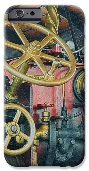 Controls iPhone Case by Sharon Lisa Clarke