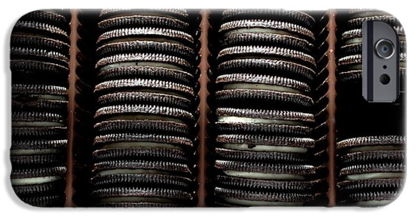 Oreos iPhone Cases - Cookie Thief  iPhone Case by Barbara Griffin