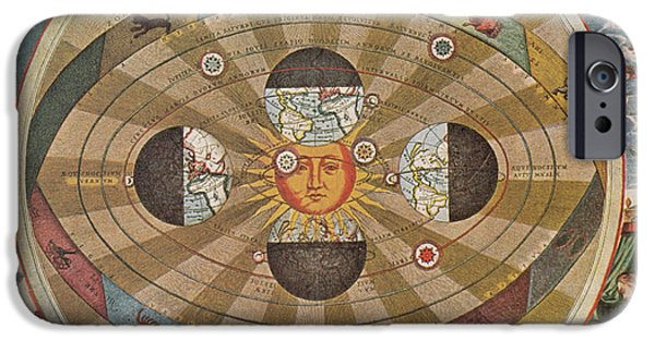 Copernicus iPhone Cases - Copernican World System, 17th Century iPhone Case by Science Source