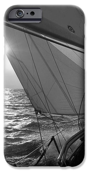 Coquette Sailing iPhone Case by Dustin K Ryan