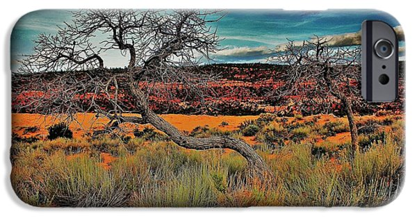 Gnarly iPhone Cases - Coral Dunes iPhone Case by Benjamin Yeager