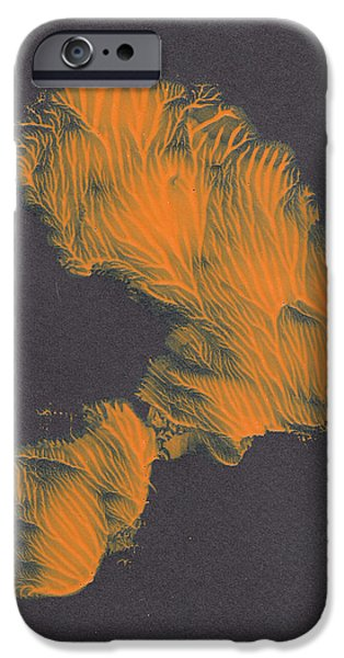 Swiss Mixed Media iPhone Cases - Coral Head   iPhone Case by Manuel Sueess