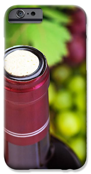 Cork of wine bottle  iPhone Case by Anna Omelchenko