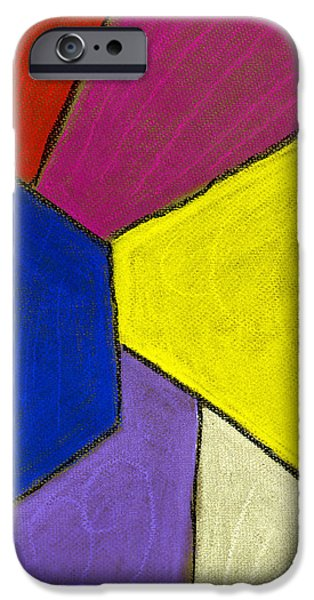 Abstract Expressionist Pastels iPhone Cases - Corridor iPhone Case by Hakon Soreide