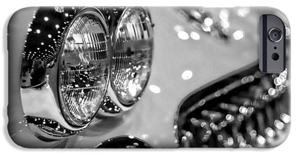 Woodward iPhone Cases - Corvette Bokeh iPhone Case by Gordon Dean II