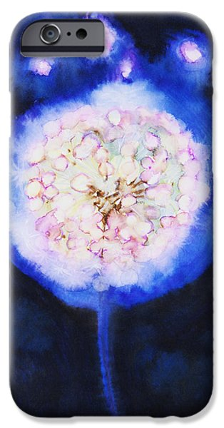 Cosmic Bloom iPhone Case by Tara Thelen