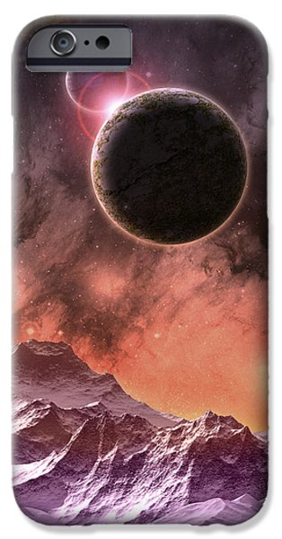 Cosmic Range iPhone Case by Phil Perkins