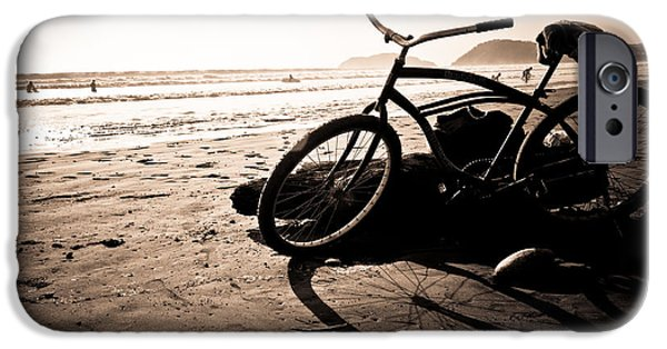 Jaco iPhone Cases - Costa Rican Beach Cruiser iPhone Case by Anthony Doudt