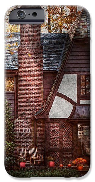 Cottage - Westfield NJ - A place to retire iPhone Case by Mike Savad