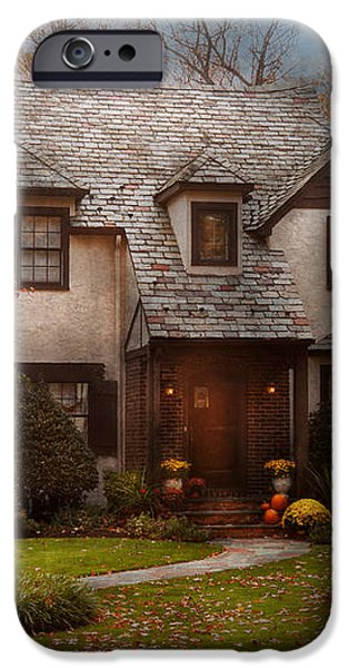 Cottage - Westfield NJ - The country life iPhone Case by Mike Savad