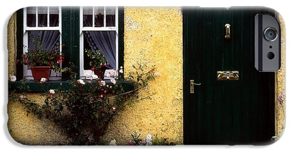 Recently Sold -  - Flora iPhone Cases - Cottage At Bushmills, Co Antrim, Ireland iPhone Case by The Irish Image Collection