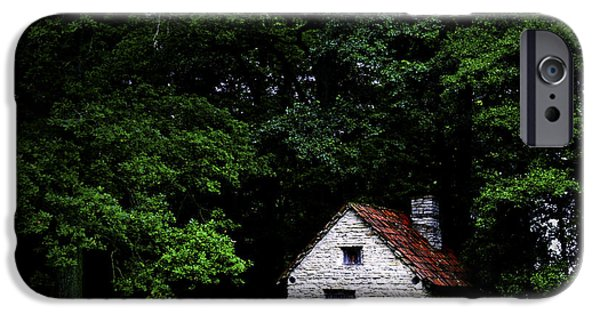 Estonia Photographs iPhone Cases - Cottage in the woods iPhone Case by Fabrizio Troiani