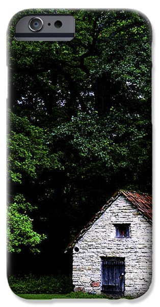 Cottage in the woods iPhone Case by Fabrizio Troiani