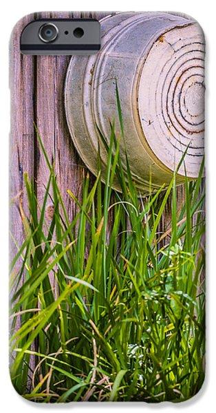 Country Bath Tub iPhone Case by Carolyn Marshall