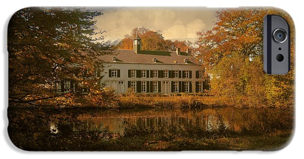 Limburg iPhone Cases - Country Estate Genbroek iPhone Case by Nop Briex