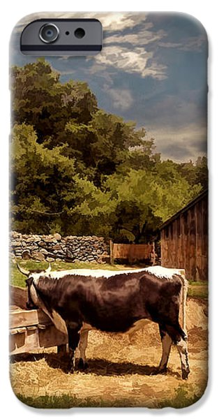 Country Life iPhone Case by Lourry Legarde